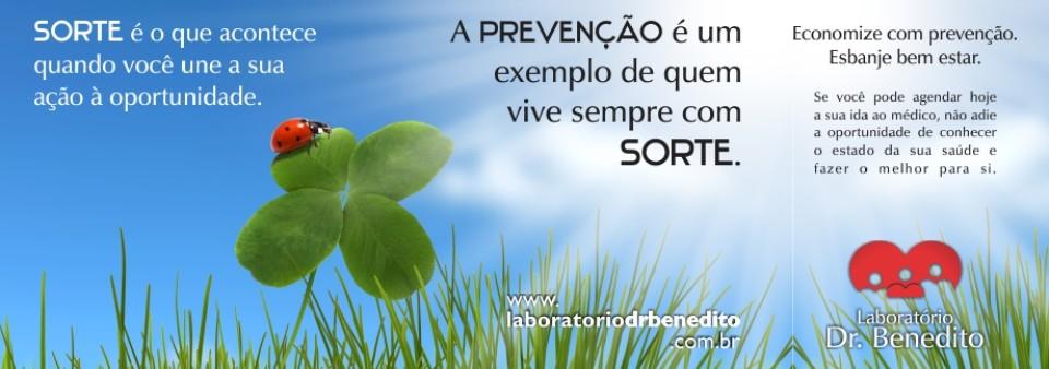 Prevenção/Sorte 022016